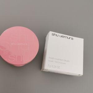 New Shu Uemura fresh cushion blush in pop in pink